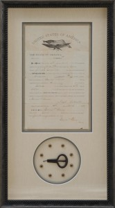 Custom framed heirlooms