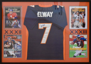 Signed Elway Jersey