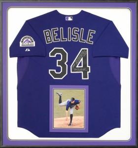 Signed Matt Belisle Jersey