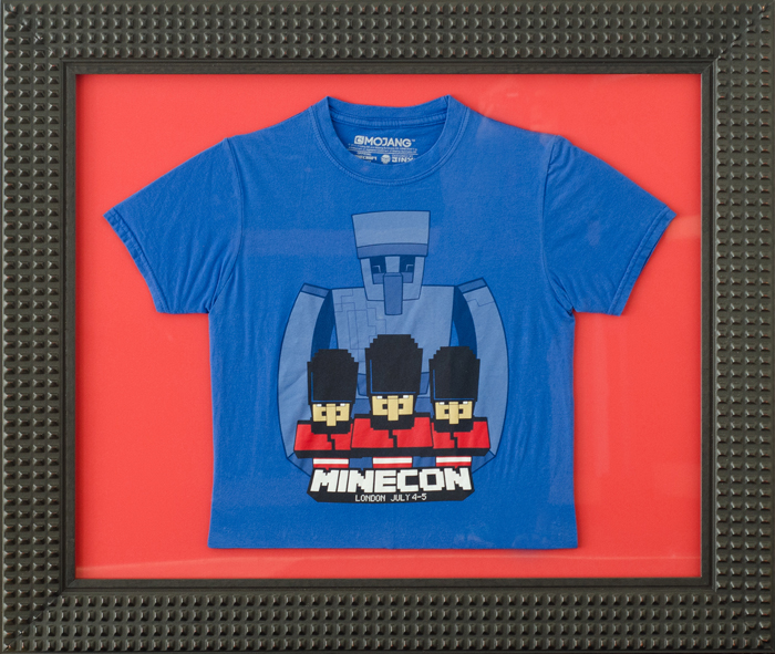FramedMinecraftTshirtS