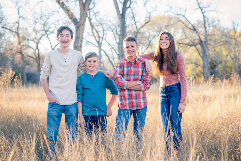 FourSiblingPhotoDenver