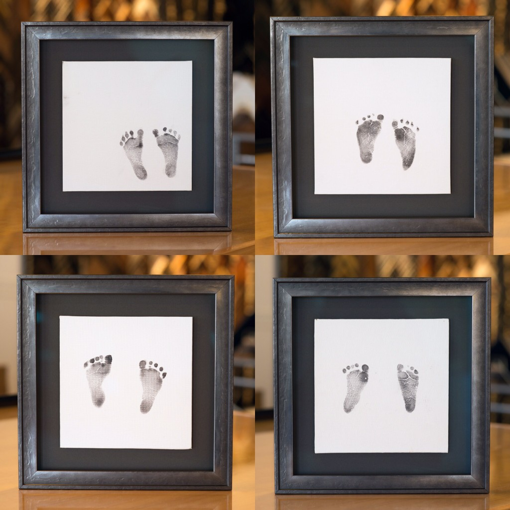 FramedBabyFootprints