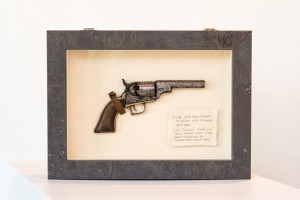 Antique Gun Custom Shadow Box -Denver Custom Framing