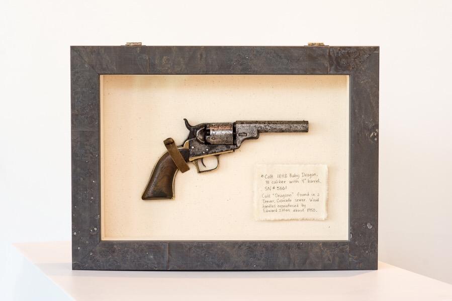 Antique Gun Custom Shadow Box -Denver Custom Framing